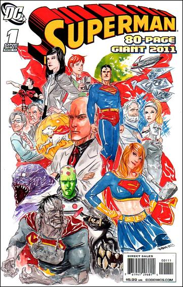 Superman 80-Page Giant 2011 1-A by DC