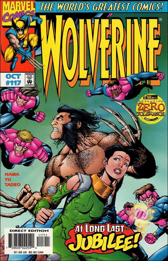 Wolverine (1988)  117-A by Marvel