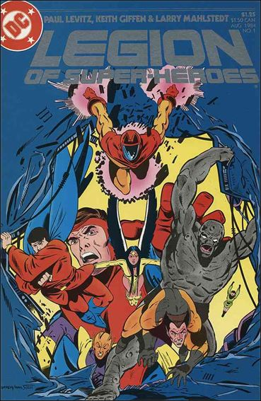 Legion of Super-Heroes (1984) 1-A by DC