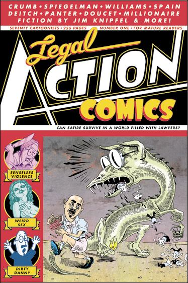 Legal Action Comics 1-A by Dirty Danny Legal Defense Fund