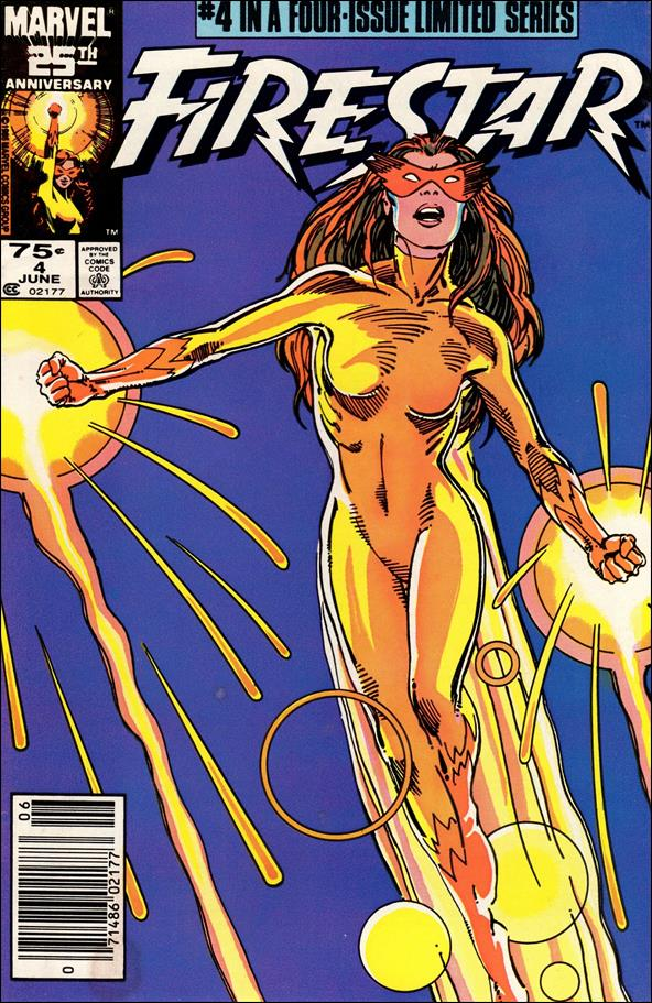 Firestar (1986) 4-A by Marvel