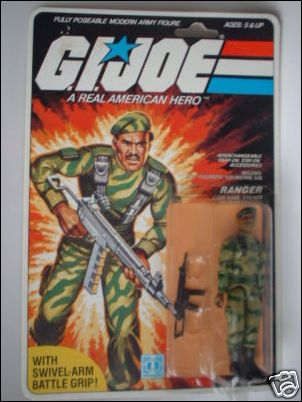 "G.I. Joe: A Real American Hero 3 3/4"" Basic Action Figures Stalker (Ranger) - Swivel Arm by Hasbro"