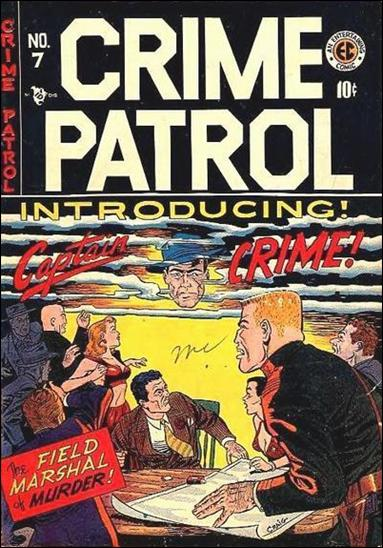 Crime Patrol (1948) 7-A by E.C.