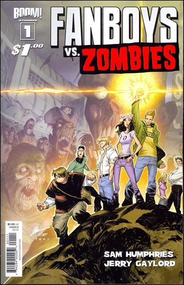 Fanboys vs Zombies 1-D by Boom! Studios