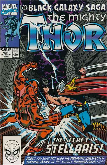 Thor (1966) 421-A by Marvel
