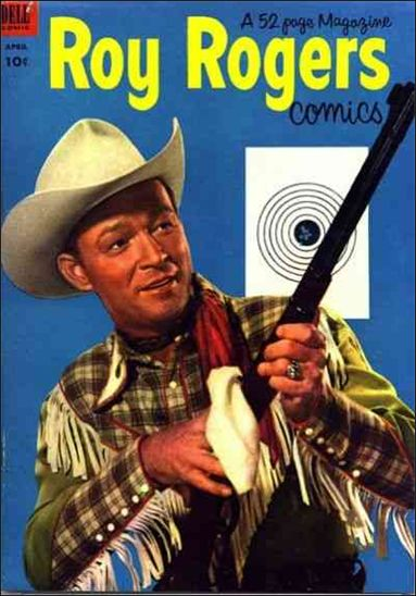 Roy Rogers Comics 64-A by Dell