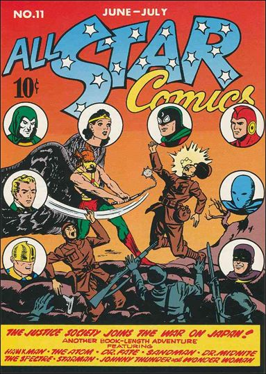 All Star Comics (1940) 11-A by DC