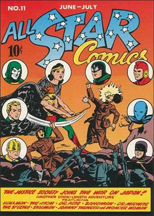 All Star Comics (1940) 11-A
