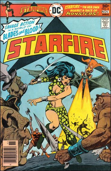 Starfire (1976) 2-A by DC