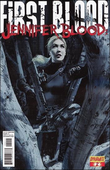 Jennifer Blood: First Blood 2-A by Dynamite Entertainment