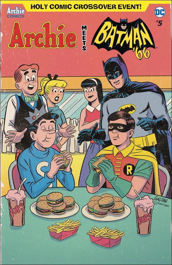 Archie Meets Batman '66 5-C by Archie