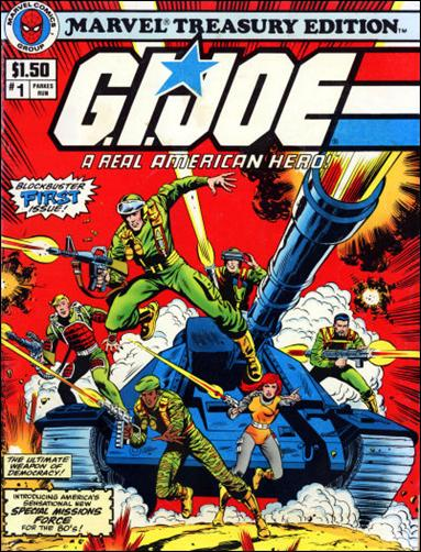 G.I. Joe: A Real American Hero Special Treasury Edition 1-A by Marvel