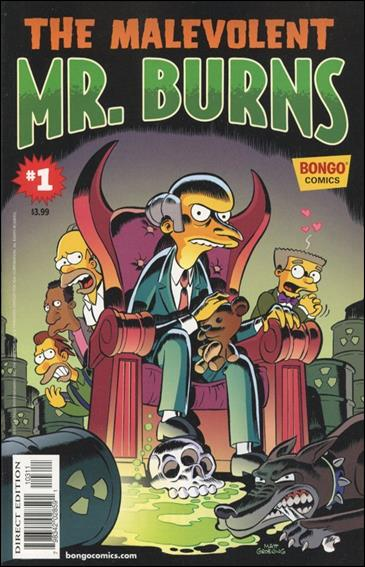 Simpsons One-Shot Wonders: Mr. Burns 1-A by Bongo