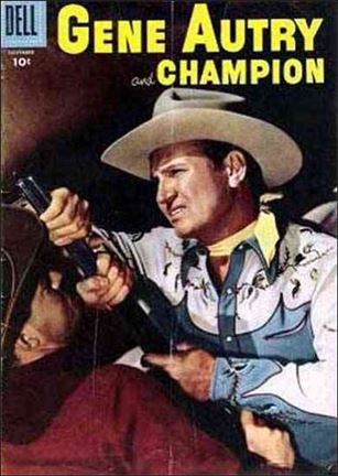 Gene Autry and Champion 105-A