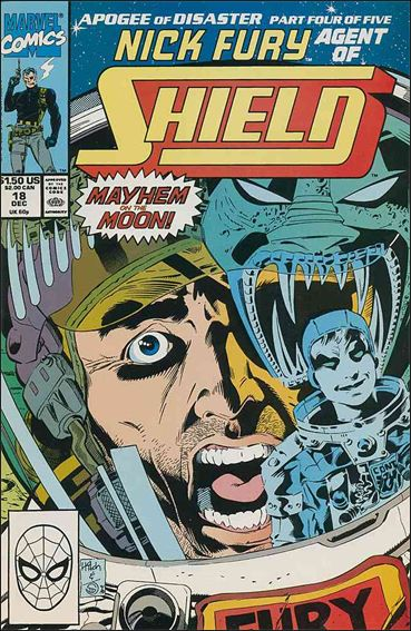 Nick Fury, Agent of S.H.I.E.L.D. (1989) 18-A by Marvel