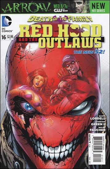 Red Hood and the Outlaws  16-A by DC