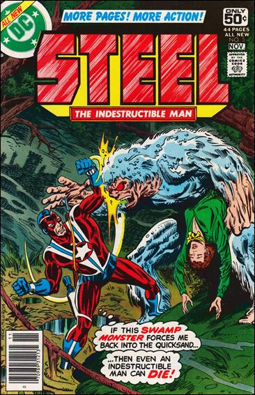 Steel, the Indestructible Man 5-A by DC
