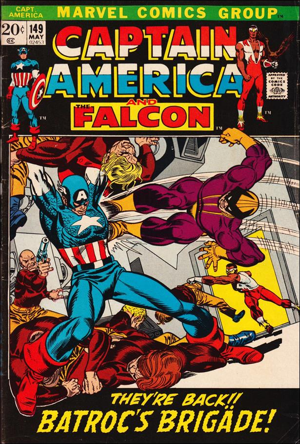 Captain America (1968) 149-A by Marvel