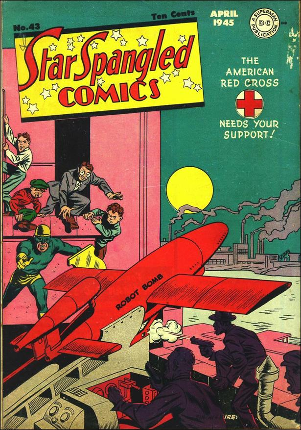 Star Spangled Comics (1941) 43-A by DC