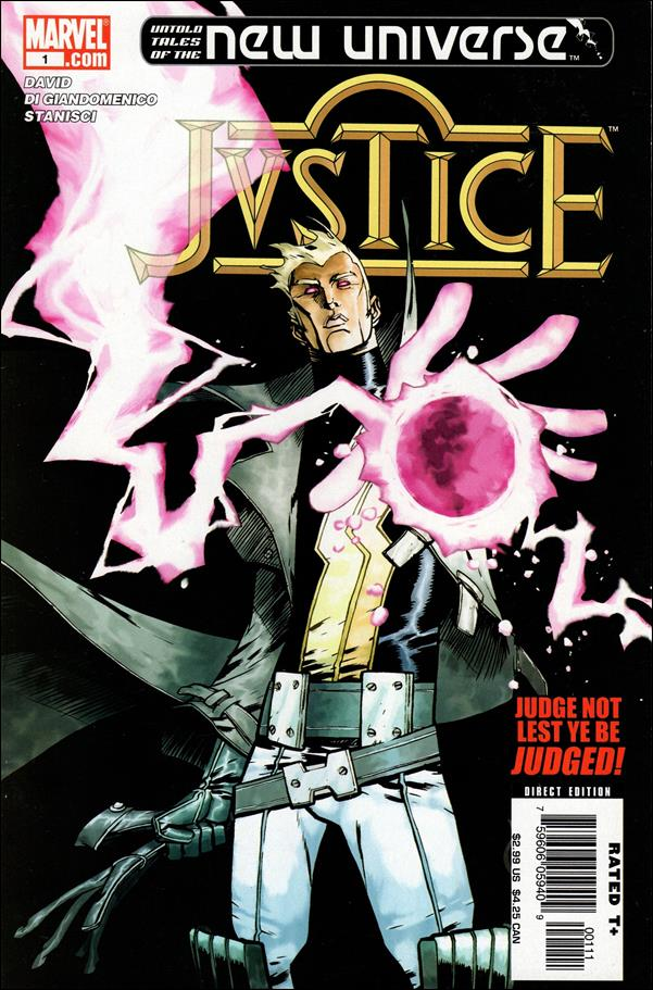 Untold Tales of the New Universe: Justice 1-A by Marvel