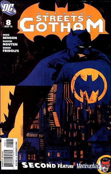 Batman: Streets of Gotham 8-A by DC