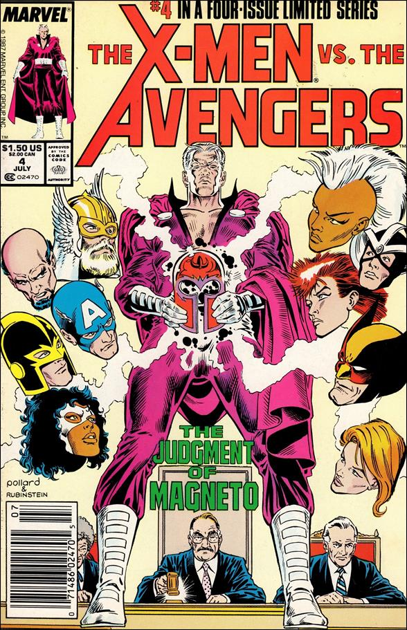 X-Men vs the Avengers 4-A by Marvel