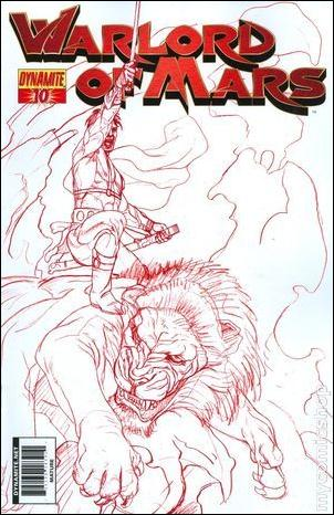 Warlord of Mars 10-F by Dynamite Entertainment