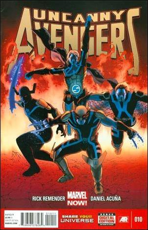 Uncanny Avengers (2012) 10-A by Marvel