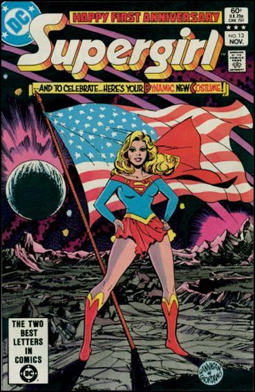 Daring New Adventures of Supergirl 13-A by DC