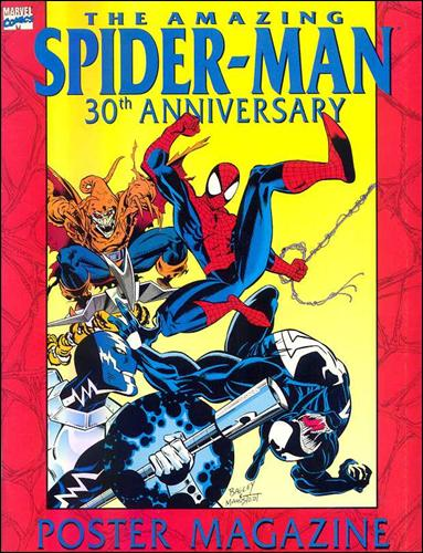 Amazing Spider-Man: 30th Anniversary Poster Magazine 1-A by Marvel