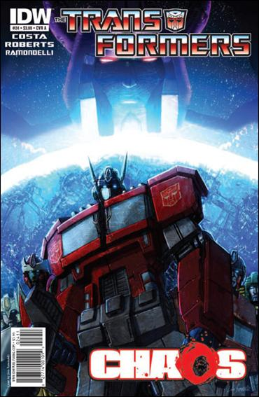 Transformers (2009) 24-A by IDW