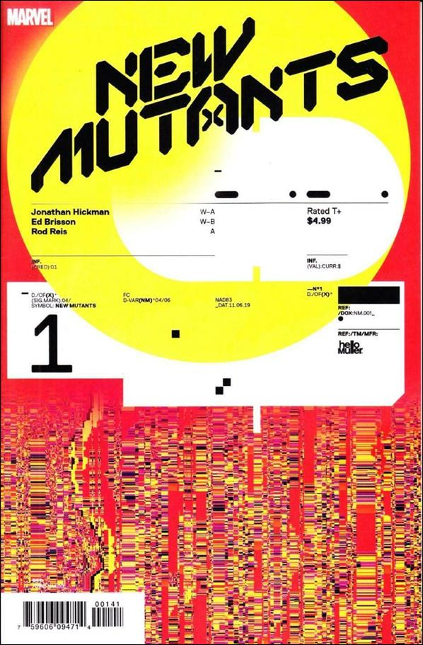 New Mutants (2020) 1-E by Marvel