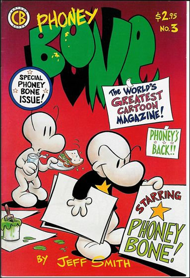 Bone (1991) 3-E by Cartoon Books