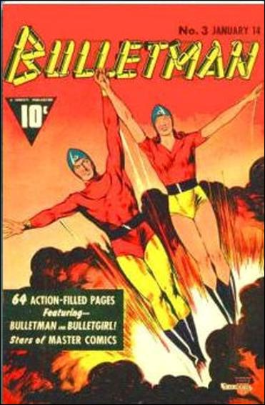 Bulletman 3-A by Fawcett