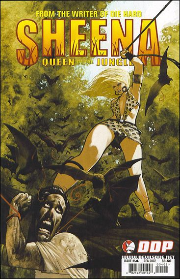 Sheena, Queen of the Jungle (2007) 4-C by Devil's Due