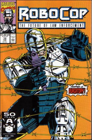 Robocop (1990) 12-A by Marvel