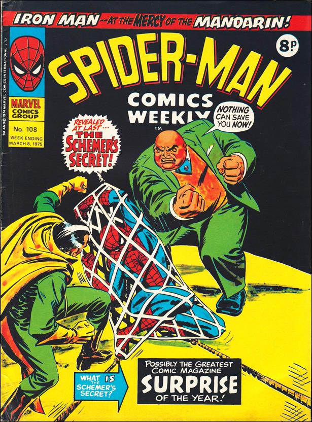 Spider-Man: Comics Weekly (UK) 108-A by Marvel UK