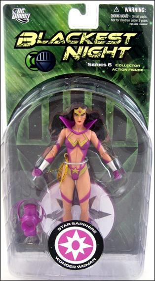 Blackest Night (Series 6) Star Sapphire Wonder Woman by DC Direct
