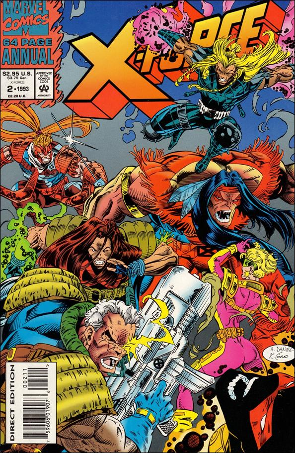X-Force Annual 2-A by Marvel