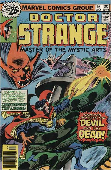 Doctor Strange (1974) 16-A by Marvel
