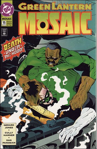 Green Lantern: Mosaic 15-A by DC