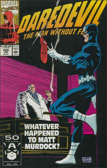 Daredevil (1964) 288-A by Marvel