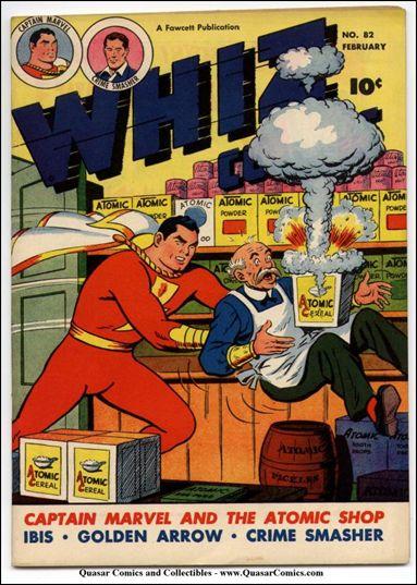 Whiz Comics 82-A by Fawcett