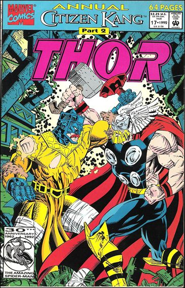 Thor Annual (1966) 17-A by Marvel