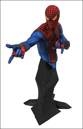 Amazing Spider-Man Movie Busts Spider-Man by Diamond Select