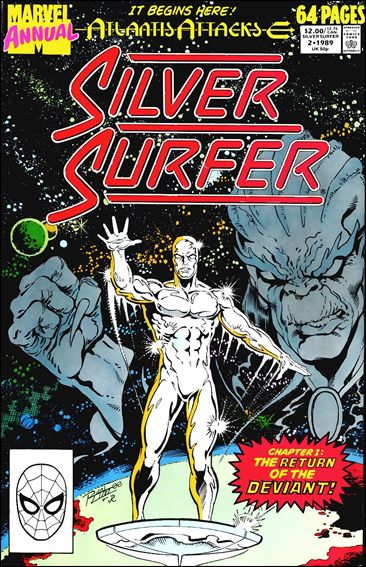 Silver Surfer Annual 2-A by Marvel
