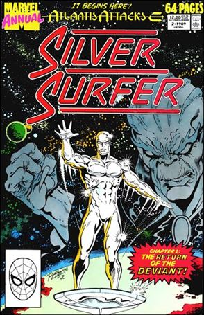 Silver Surfer Annual 2-A