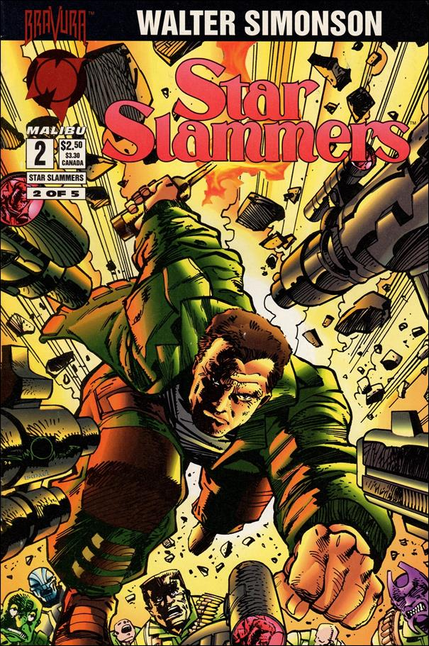 Star Slammers 2-A by Malibu