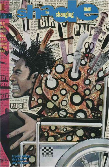 Shade, the Changing Man (1990) 33-A by Vertigo