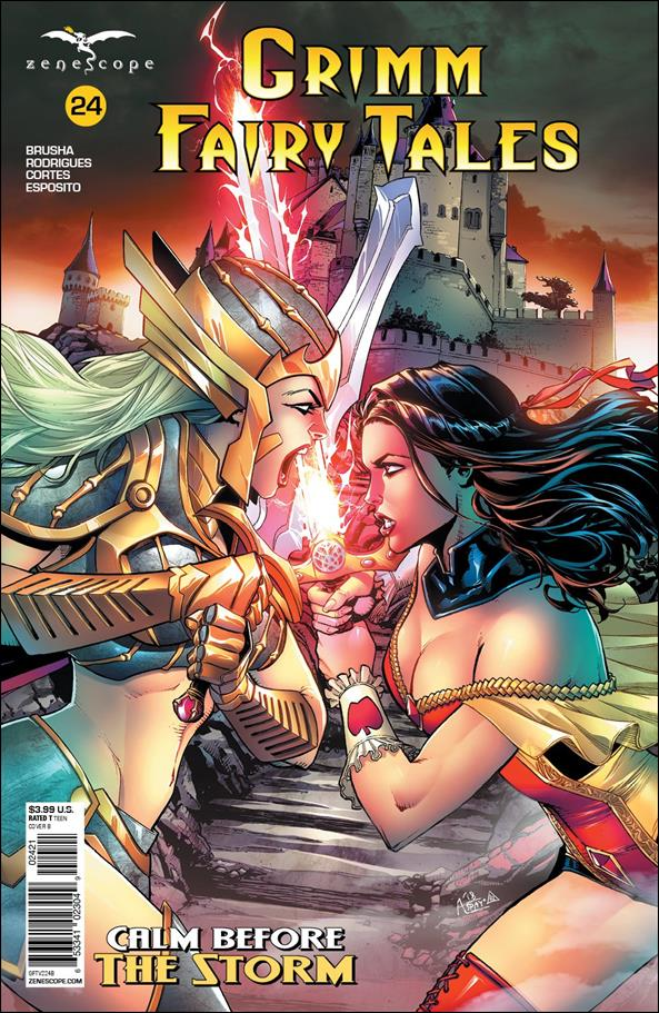 Grimm Fairy Tales (2016) 24-B by Zenescope Entertainment